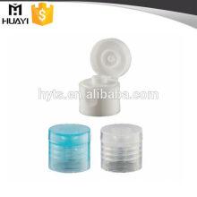 matériau blanc transparent pp flip bouchon
