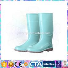 Пластиковые дешевые дождевые туфли для женщин