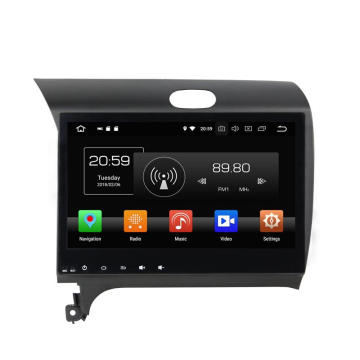 Two Din Android 8.0 DVD de voiture Cerato 2013-2014