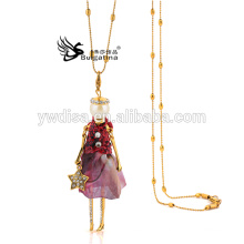 Fashion Doll Necklace,Women Doll Necklace,Doll Pendant Necklace 2015 New Design For Christmas