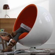 Cadeira do espaço em forma de ovo e cadeira da esfera