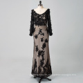 Custom Made Sexy Girls Formal Party Gown Long Sleeves Detached Trains