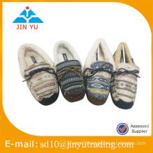 China wholesale elegant indoor winter slipper shoes for ladies
