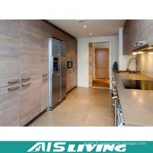Armoires de cuisine de mélamine de fabricants professionnels (AIS-K393)