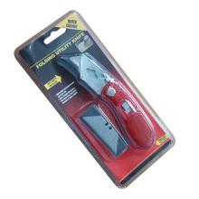 Folding utilitário faca com uma caixa de lâminas de substituição
