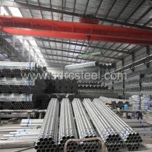 Tubo de aço redondo galvanizado por imersão a quente