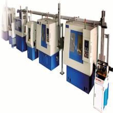 Chaîne de production automatique de rouleau conique