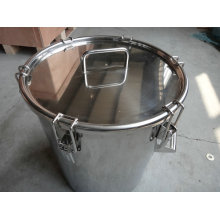 Stainless Steel Drum with Pull Down Locking