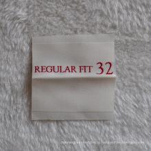 Металлическая этикетка с этикеткой с сертификатом Ce