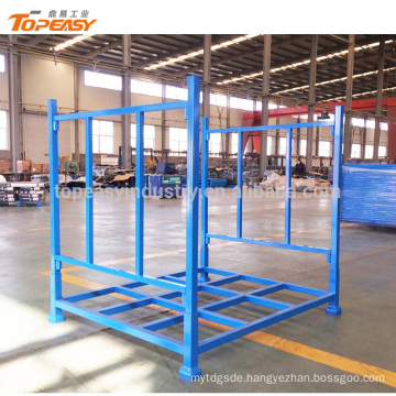 Heavy duty movable metal racking for warehouse storage