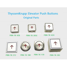 Tombol Push Lift ThyssenKrupp