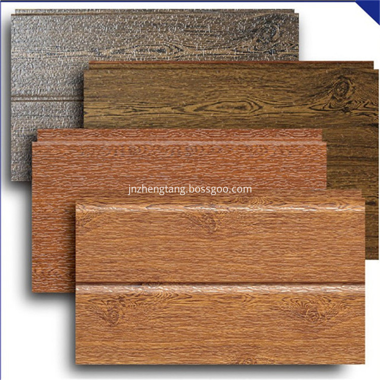 insulation metal embossed exterior wall panel