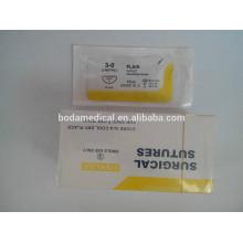 Самоиндуцированный хирургический шов коллагена для подтяжки и подтяжки кожи