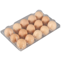 12 Löcher Clear Egg Box Kunststoff Eierablage