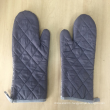 oven color fish printed Newest Product High Quality BBQ Grills Pot Holder Mitten