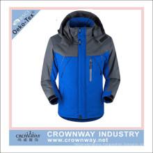 Men Softshell Waterproof Ski Jacket with Fleece Inside