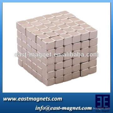 high temperature resistance neodymium cube magnets for water meters