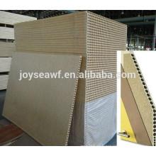 Tablero aglomerado hueco para materiales interiores de puertas