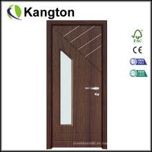 Puerta interior de PVC de vidrio (puerta de PVC)