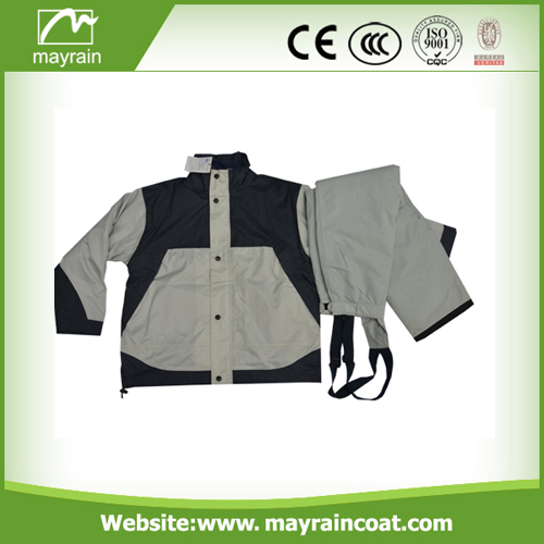 Gray Cycling Wear Jacket