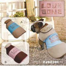 Abrigo de moda perro caliente, ropa para perros (YJ82291)