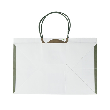 Custom Print HoleHandle White Recycled Paper Kraft Envelope