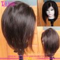 Por atacado bob curto Europeu quente vendendo a parte dianteira do laço 100 peruca de cabelo humano