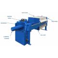 Prensa de filtro de aceite vegetal Pequeño costo de la máquina de filtrado