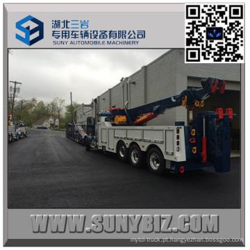 Caminhão de reboque de 50 toneladas deslizante resistente