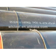 Precio de la tubería sin humo ASTMA53 / A106 / API5L por tonelada