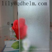 Vidrio de impresión decorativo, vidrio laminado del modelo para el vidrio de la ducha