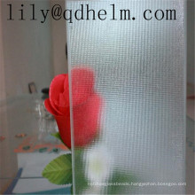 Decorative Printing Glass, Pattern Laminated Glass for Shower Glass