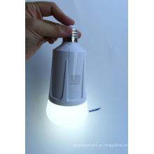 Luzes de emergência de bateria de substituição dupla