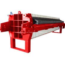 Máquina de prensa de filtro de marco y placa hidráulica