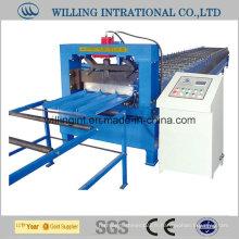 Machine de formage de rouleaux de toit en tôle d'acier prépeinte par le fabricant