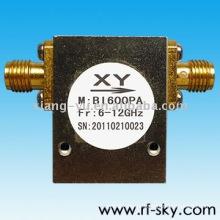 6-12 GHz Rf Isoladores Passivos SMA / N conector 10W