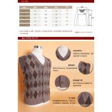 Yak Wool / Cachemire V Neck Cardigan à manches longues Pull / Vêtement / Vêtements / Tricots
