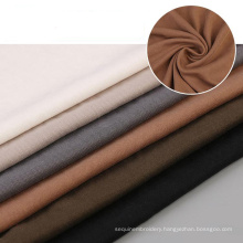 Apparel textiles clothes knitted plain dyed varley fabric modal polyester fleece fabric