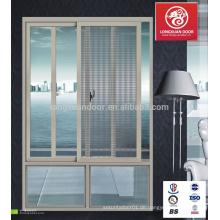 Heißer Verkauf / neuer Entwurf / populäre Schiebealuminiumlegierungsfenster und -türen