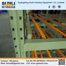 China Supplier Gravity Self-slide Racking
