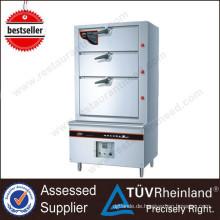 Für Restautant Kitchen Equipment 400L Luxus Insgesamt schäumenden Dampfkocher