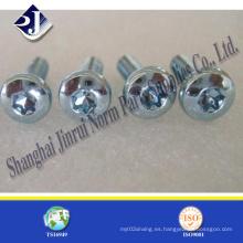 Tornillo Torx de seguridad de material de acero T9