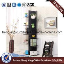 Cheap Price Black Melamine Filing Cabiner/Bookcase (HX-6M397)