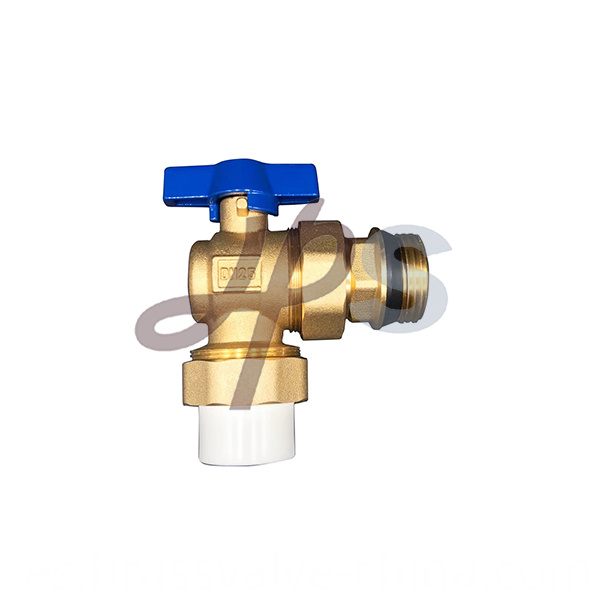 Brass Angle Ball Valve With Ppr Union Hb60