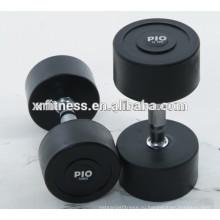 фитнес-оборудование аксессуары резиновые гантели Р10