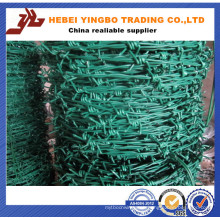 2.0mm Galvanized Barbed Iron Wire / Hot Dipped Galvanized Barbed