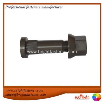 Grade 8.8, 10.9 titanium wheel bolt and nut