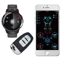 Dropshipping Auto Watch Key Smart Car Alarm Starter Push Start Stop Button Keyless Entry System Smart Alarma De Carro Car Alarms