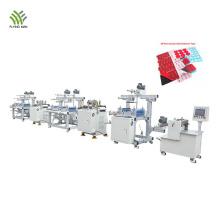 Línea de producción de troquelado convertidor de cinta electrónica