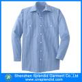 Wholesale Men Top Quality Cotton Comfortable Stripe Shirt